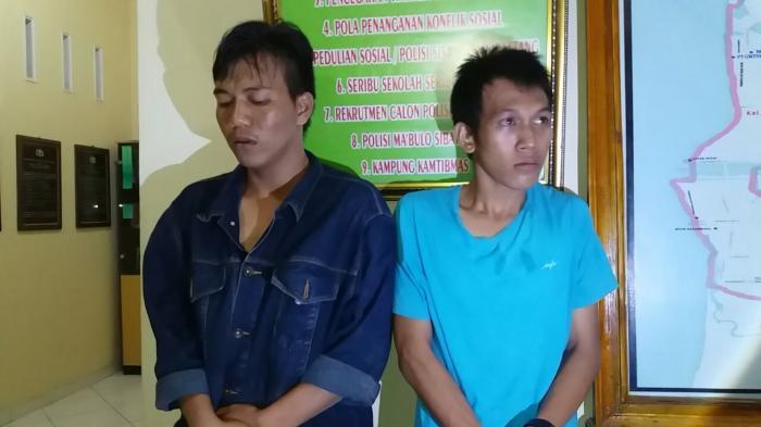 Nyali Pembegal Luluh Usai Diamankan Polisi Bertemu Korbannya Taman Maccini