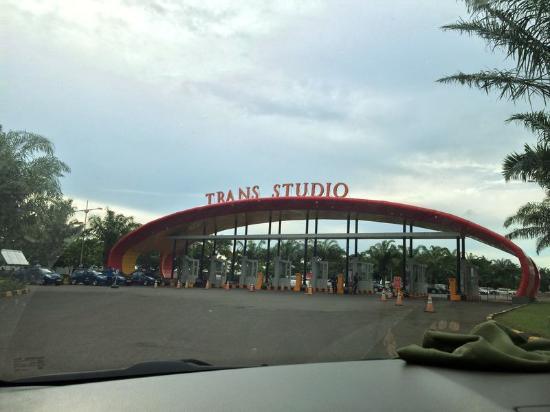Gerbang Masuk Trans Studio Makassar Picture Kota