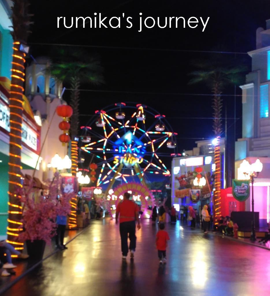 Menjajal Berbagai Wahana Trans Studio Makassar Rumika Journey Sebelah Bianglala