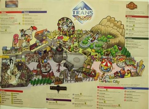 Trans Studio Theme Park Makassar Overview Abbi Umar Mini Map