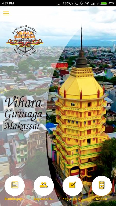 Girinaga Android Apk Download Poster Screenshot 1 Vihara Kota Makassar