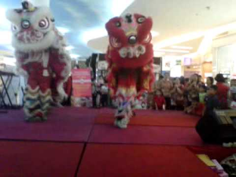 Lion Dance Vihara Girinaga Makassar Youtube Kota