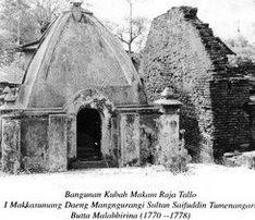 Budaya Indonesia Sisa Peninggalan Kompleks Makam Raja Tallo Sebuah Kuno