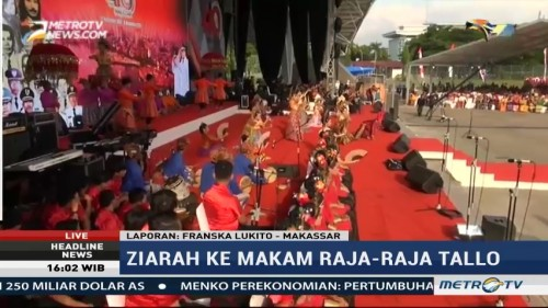 Headline News Pembukaan Makassar International F8 Berlangs Warga Antusias Rayakan