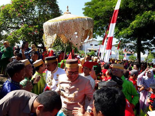 Hut Makassar Dirangkai Ziarah Makam Raja Tallo Wali Kota Moh