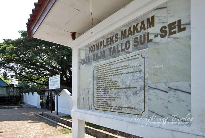 Menulis 2016 Kompleks Makam Raja Tallo Foto Aroengbinang Travelog Ziarah