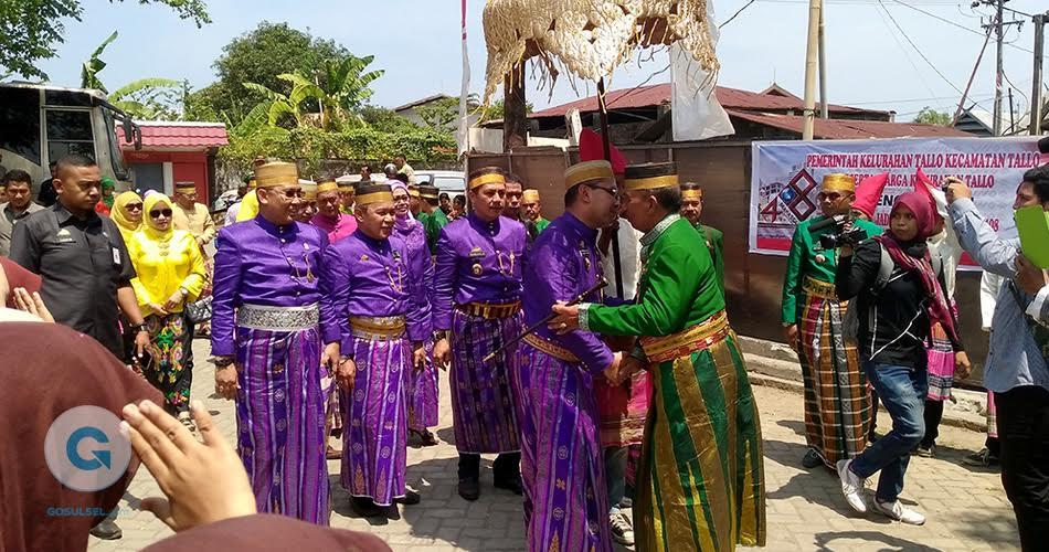 Ziarah Makam Raja Tallo Rombongan Walikota Disambut Tarian Adat Makassar