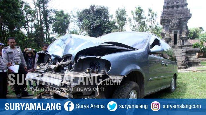 Candi Kidal Malang Rusak Akibat Ditabrak Mobil Astaga Sopir Ngaku