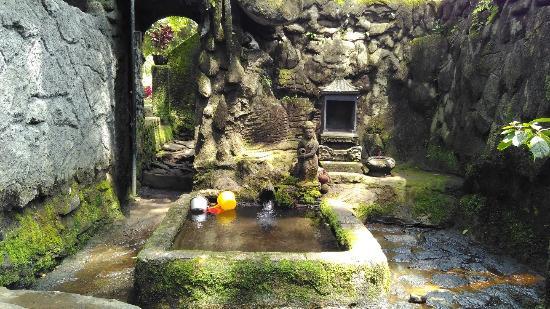 Mata Air Diberi Bangunan Tampak Eksotik Picture Sumberawan Temple Candi