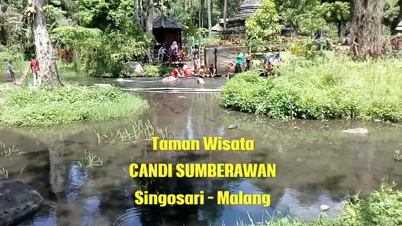Taman Wisata Alam Candi Sumberawan Singosari Malang Youtube Kota