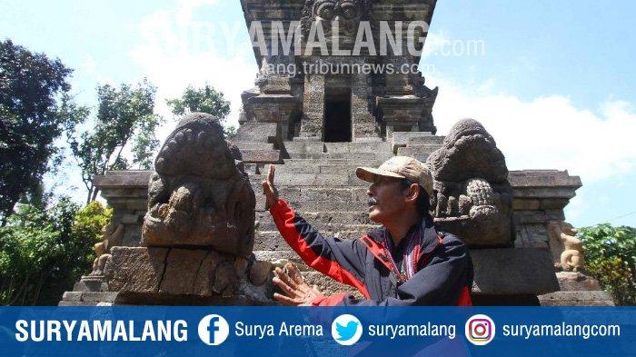 Usai Ditabrak Mobil Inilah Kerusakan Dialami Candi Kidal Kabupaten Malang
