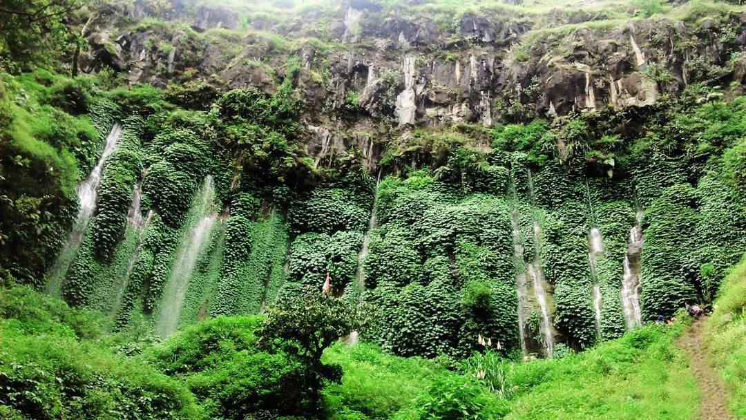 Coban Sumber Pitu Pujon Sensasi 7 Air Terjun Satu Kawasan