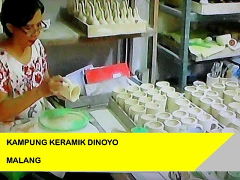 Beginilah Proses Pembuatan Kampung Keramik Dinoyo Malang Youtube Kota