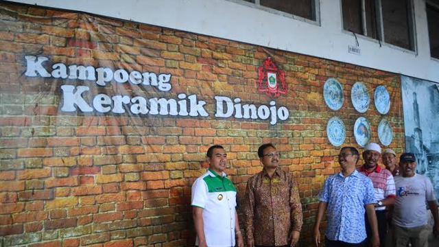 Belasan Mati Suri Pabrik Bersejarah Segera Beroperasi 20160224 Keramik Dinoyo