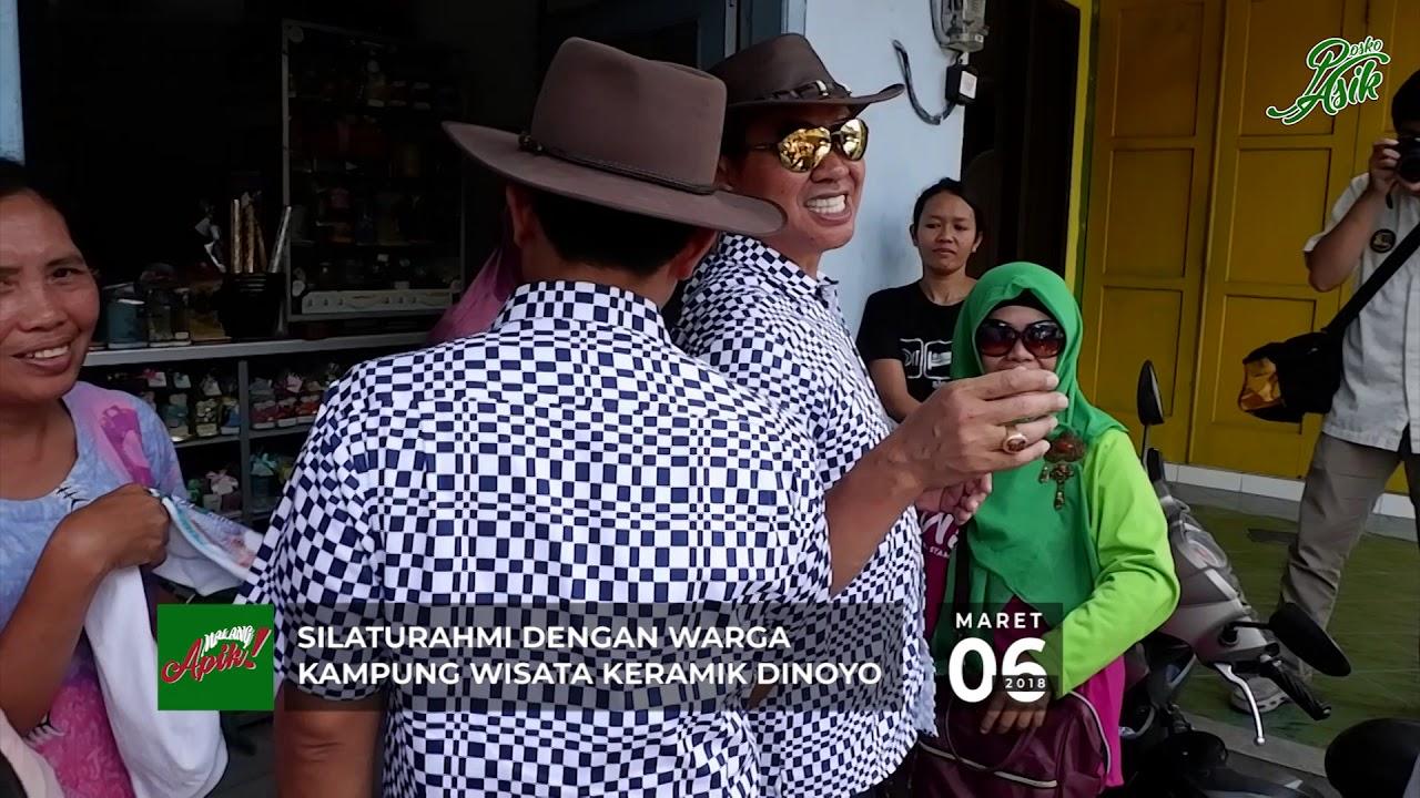 Kampung Keramik Dinoyo Kota Malang Abah Anton Nas Syamsul Youtube