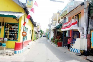 Kampung Keramik Dinoyo Malang Fluktuasi Seiring Permintaan Sebelah Selatan Kota