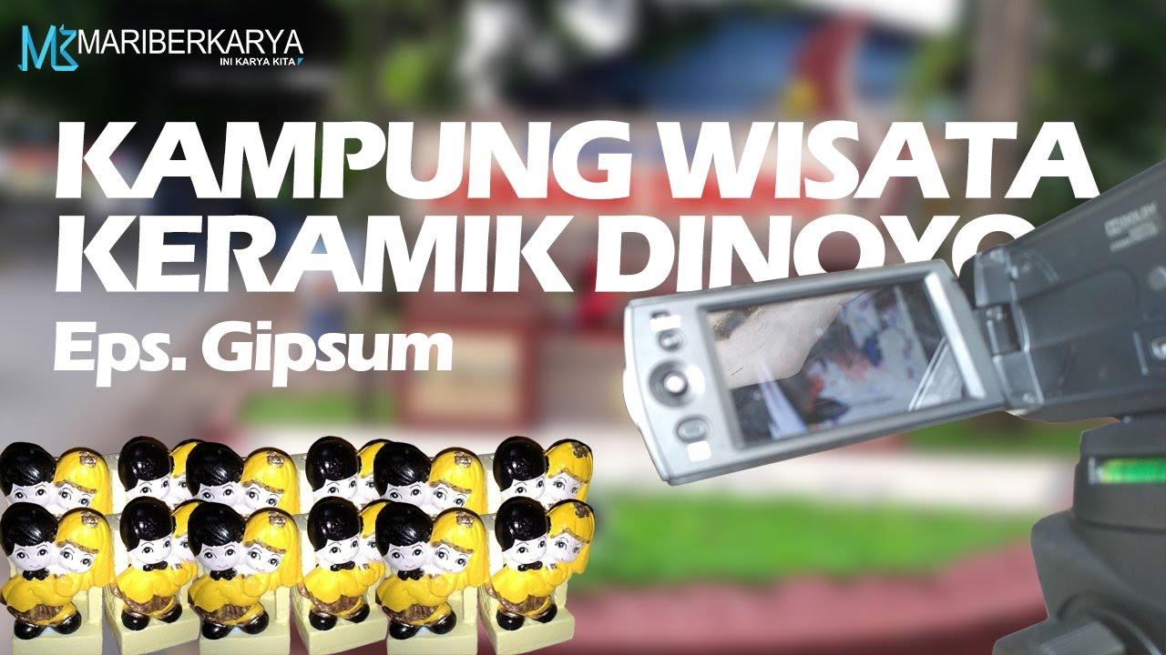 Kampung Wisata Keramik Dinoyo Episode Gipsum Ft Bu Yanti Youtube