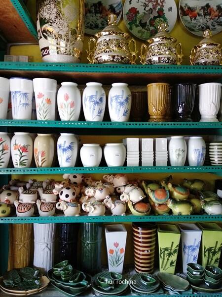 Lovely Mom Belanja Keramik Cantik Unik Mampir Showroom Sn Kampung
