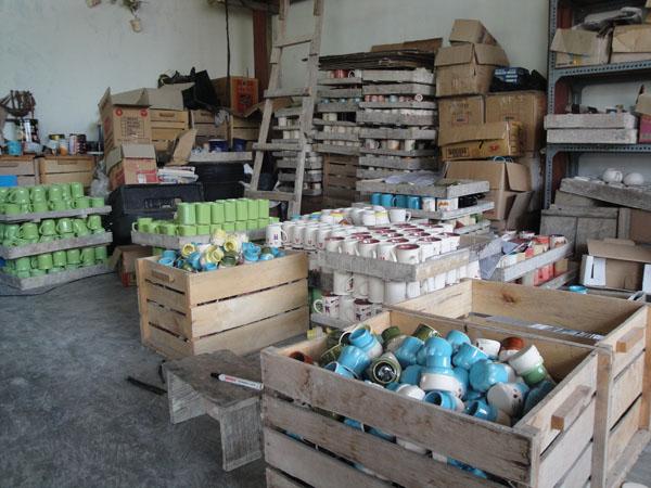 Sofenir Keramik Proses Pembutan Pembuatan Kampung Dinoyo Kota Malang