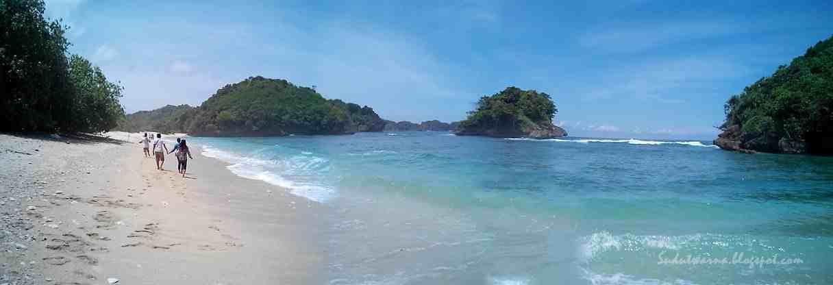 Indahnya Pasir Putih Pantai Clungup Malang Selatan Iezul Blog Senin