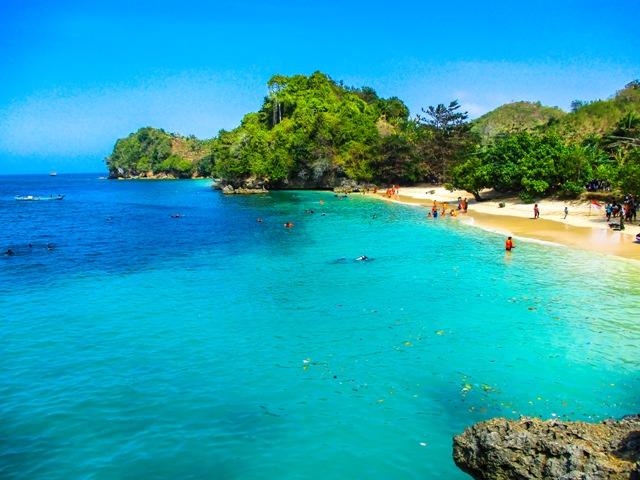 Keindahan Pantai 3 Warna Malang Selatan Visit Jatim Clungup Kota