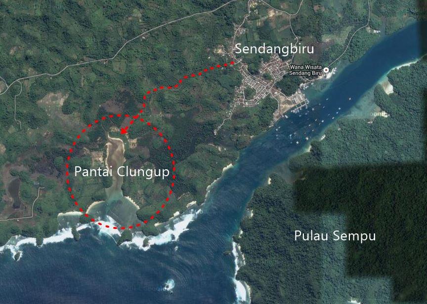 Pantai Clungup Surga Selatan Malang Anggadwinovantyo Kota