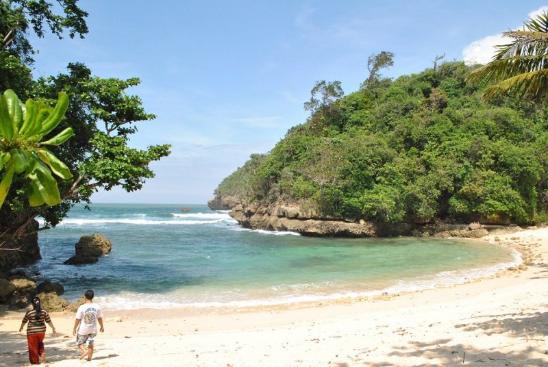 Pantai Malang Selatan P Sempu Indonesian Backpackers Ngliyep Gn Kumbang