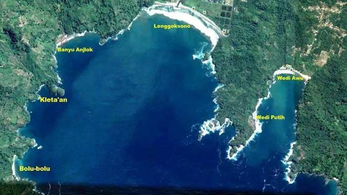 Pantai Malang Wisata Dictio Community Peta Sendang Biru Gatra Tiga