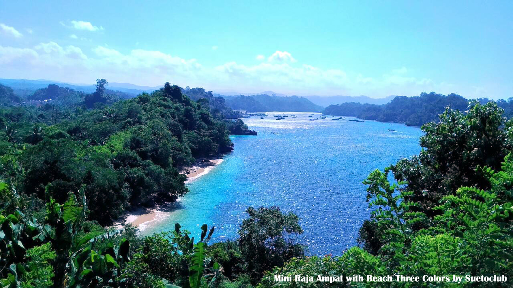 Perjalanan Pantai Mini Raja Ampat Gatra Tiga Warna Malang 1431835453422