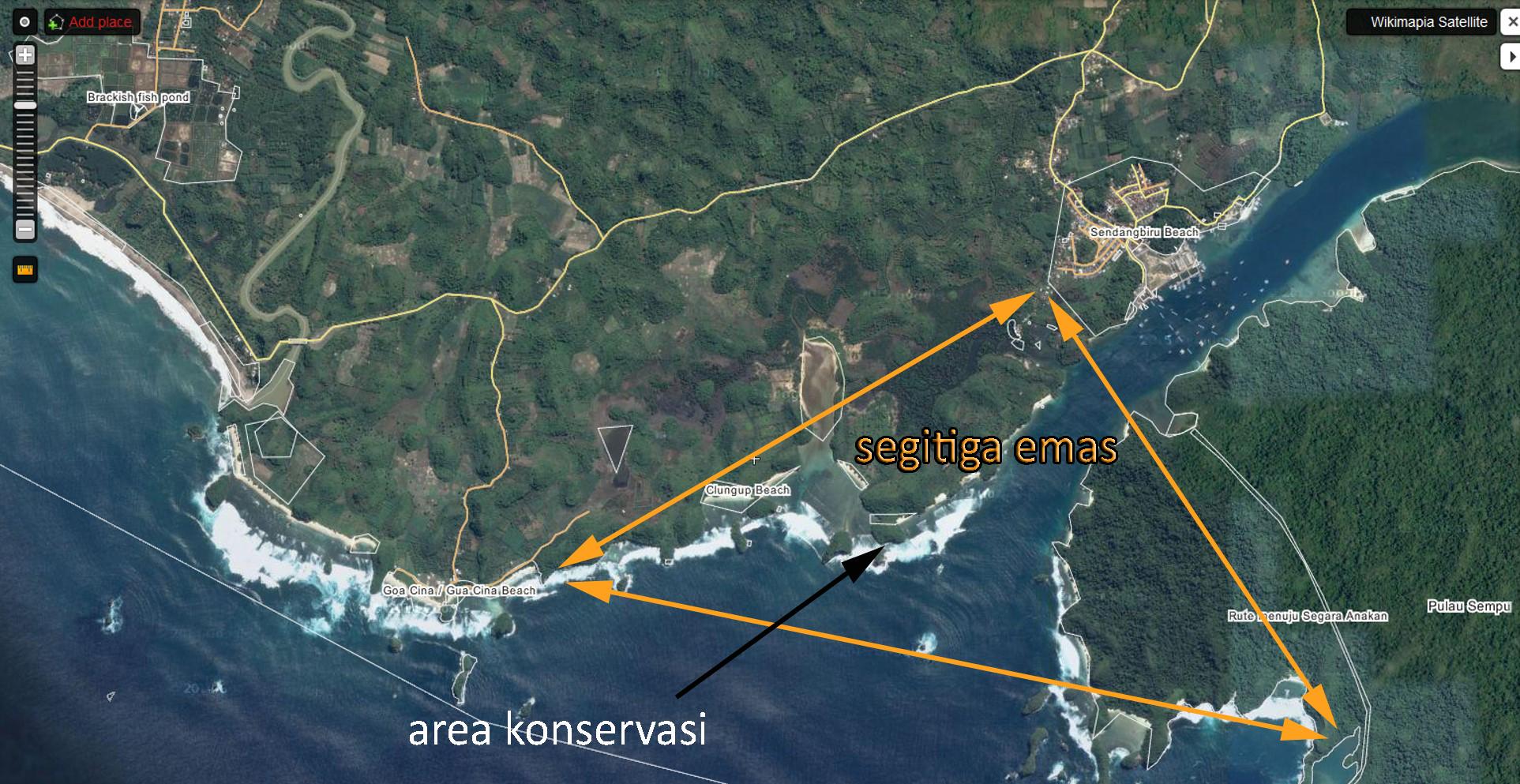 Perjalanan Pantai Mini Raja Ampat Gatra Tiga Warna Malang Suetoclub