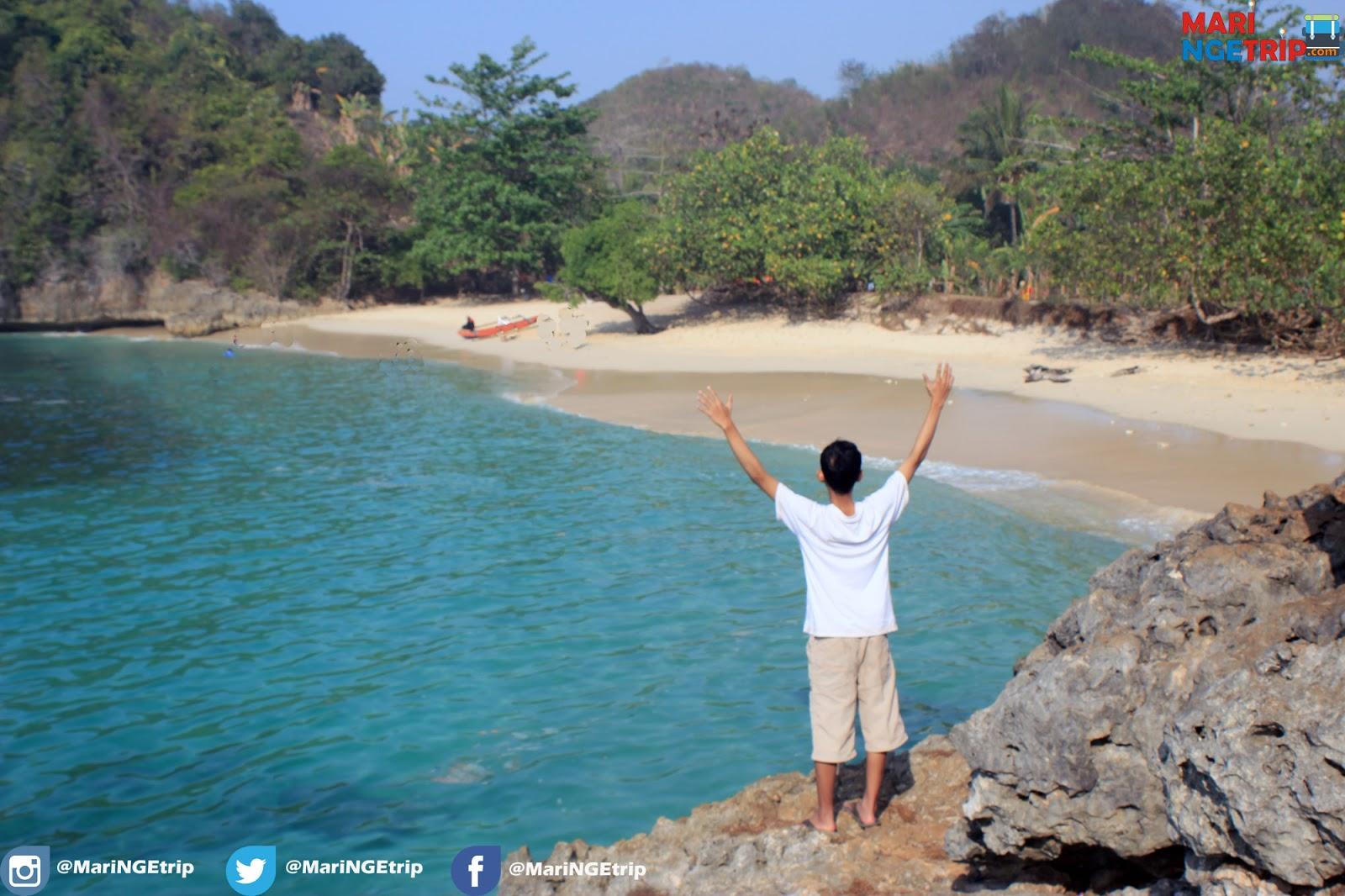 Pesona Pantai Tiga Warna Malang Bebas Sampah Wisata Indonesia Liat