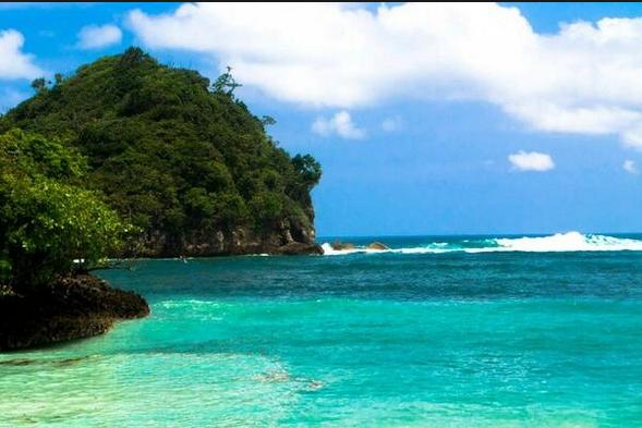 Wisata Pantai Clungup Surga Tersembunyi Kota Malang Akses Wiata Batu