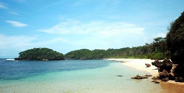 Wow Pantai 3 Warna Tersembunyi Malang Selatan Natural Clungup Kota