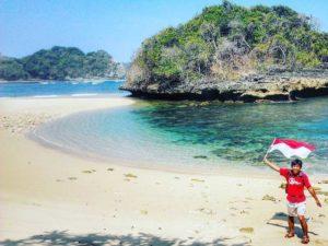 Eksotisme Pantai Kedung Celeng Malang Amazing Lokasi Bisa Dijadikan Tempat