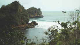 Eksotisme Pantai Kedung Celeng Malang Amazing Pasang Kota