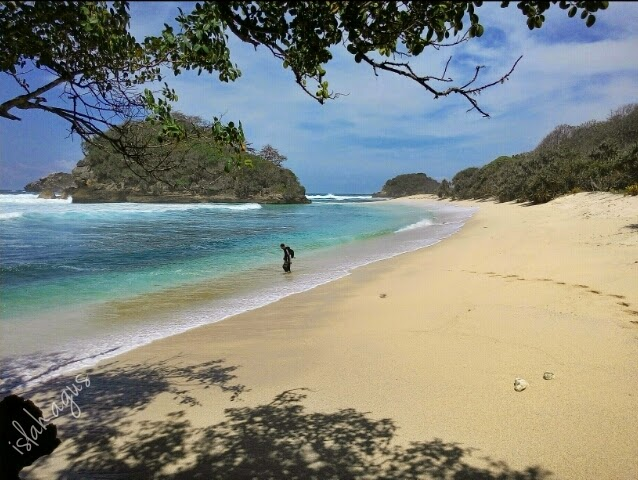 Jejak Kecilku Pantai Pulodoro Malang Sekitar 10 Menit Sampe Kedung