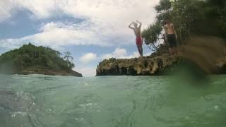 Kedung Celeng Beach Malang Indonesia Pantai Kota