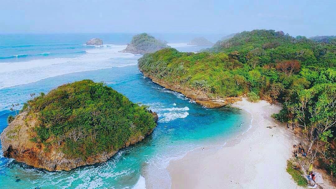 Lokasi Rute Pantai Kedung Celeng Malang Bisa Snorkeling Lho Kota