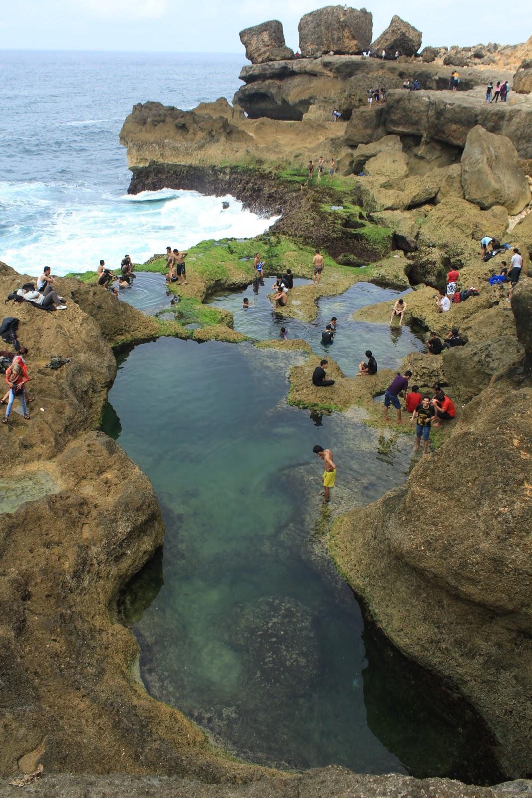 Pantai Kedung Celeng Travelresources Ferdy Waterfall Tumpang Kota Malang