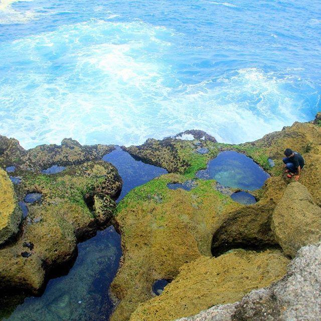 Pantai Kedung Tumpang Kolam Alami Liburmulu Pesona Tulungagung Sumber Celeng
