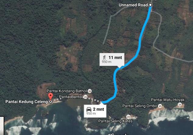 Pesona Keindahan Wisata Pantai Kedung Celeng Malang Daftar Tempat Demikianlah