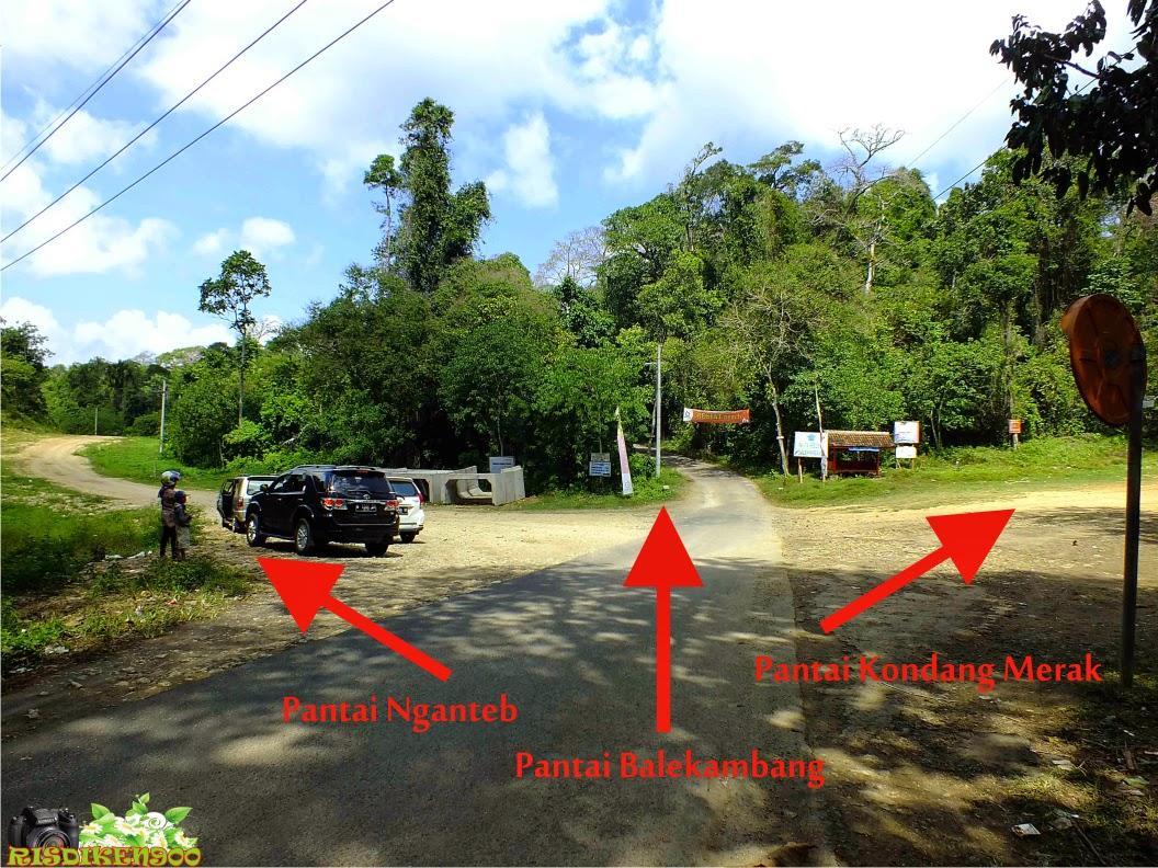 Menuju Pantai Kondang Merak Kota Malang