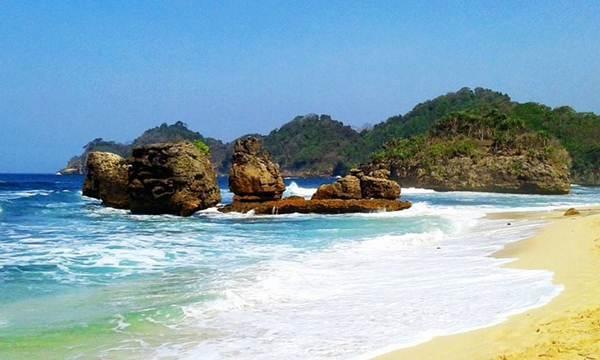 Pantai Kondang Merak Malang Misteri Lokasi Tiket Masuk Keindahan Kota