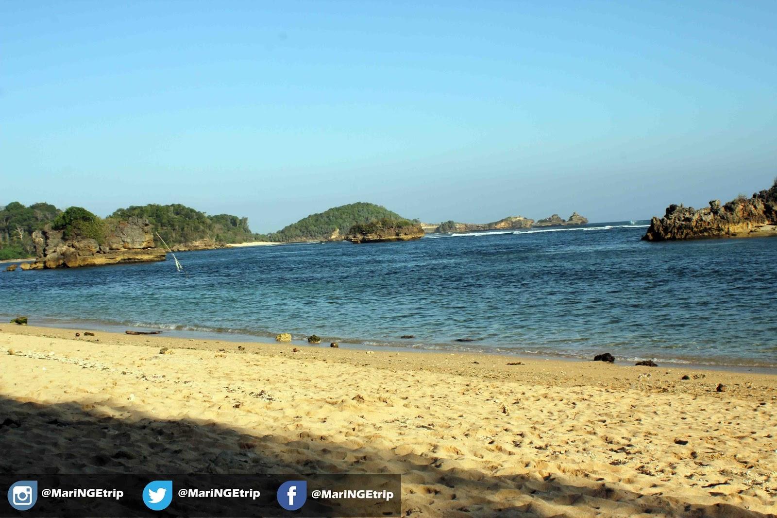 Pantai Kondang Merak Malang Wisata Indonesia Alhasil Tiba Sore Setelah