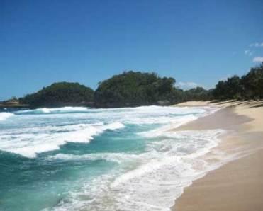 Pesona Pantai Kondang Merak Malang Tempat Wisata Terbaik Jawa Timur
