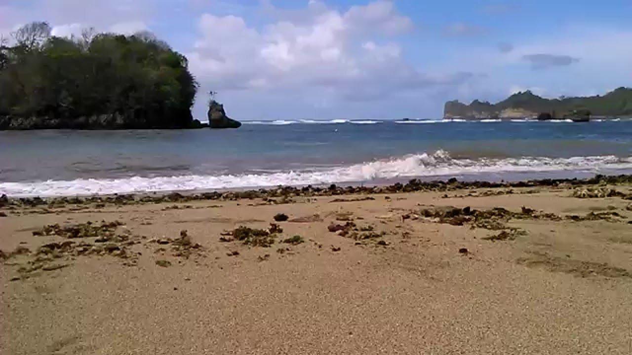 Wisata Alam Malang Pantai Kondang Merak Youtube Kota