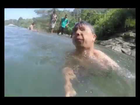 Korban Air Terjun Banyu Anjlok Pantai Lenggoksono Malang Terjatuh Hilang