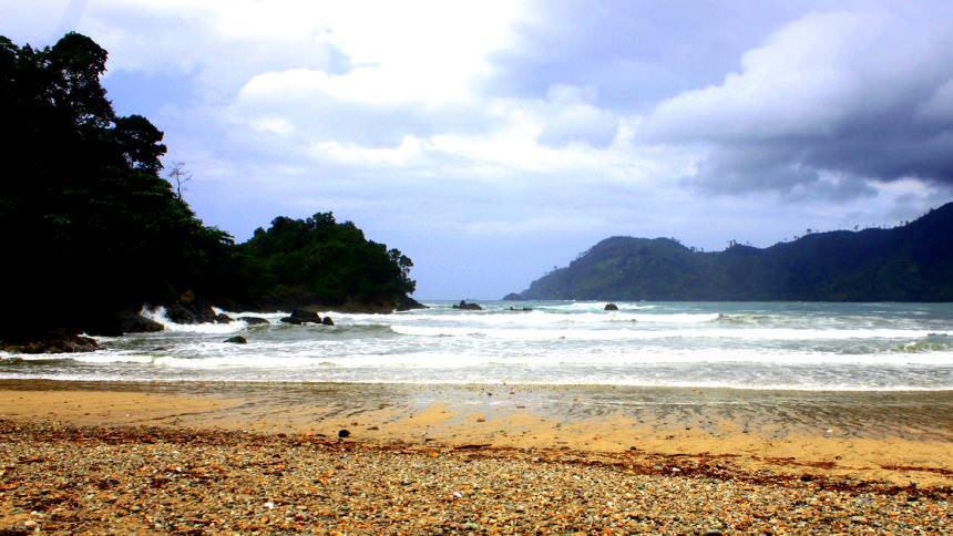 Lenggoksono Pantai Coban Banyu Anjlok Kota Malang