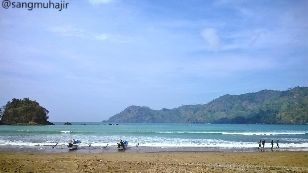 Malang Muhajir Liburan Pantai Lenggoksono Banyu Anjlok Coban Kota