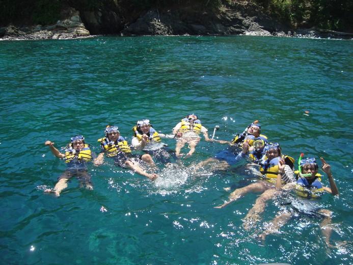 Paket Tour Pantai Banyu Anjlok Full Day Sahlan Travel Menikmati
